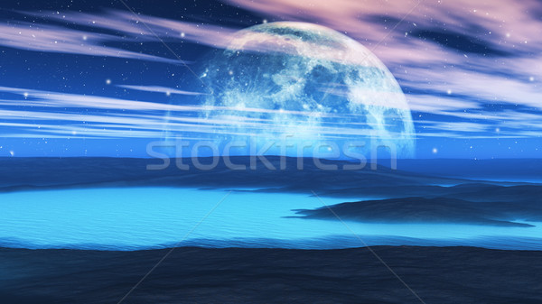 Weird planet Stock photo © kjpargeter