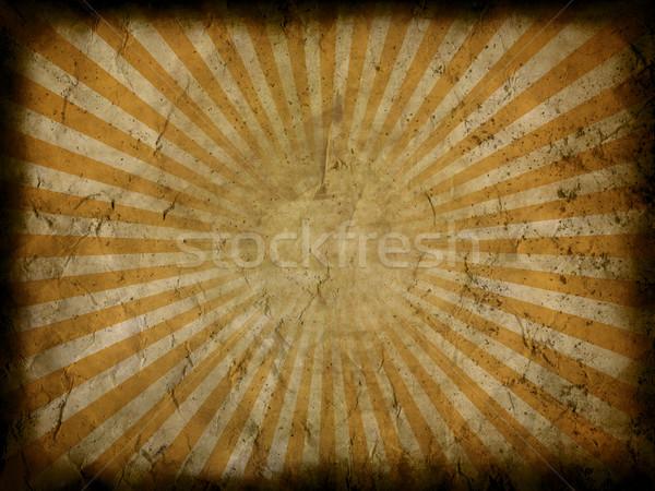 Grunge starburst background Stock photo © kjpargeter