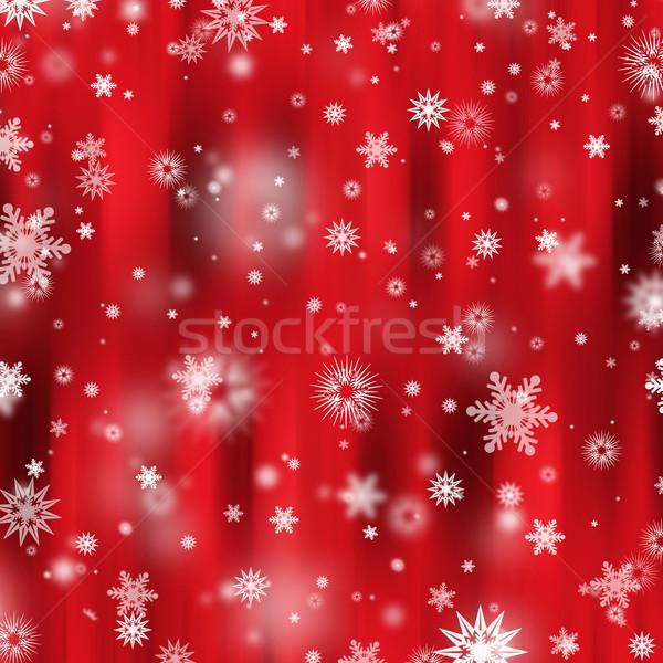 Stok fotoğraf: Kar · taneleri · kar · tanesi · kar · Noel · soğuk · kutlamak