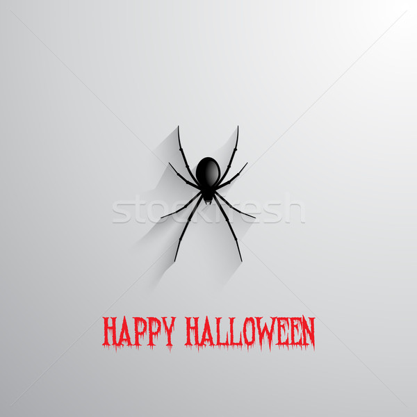 Halloween spin opknoping vakantie scary Stockfoto © kjpargeter