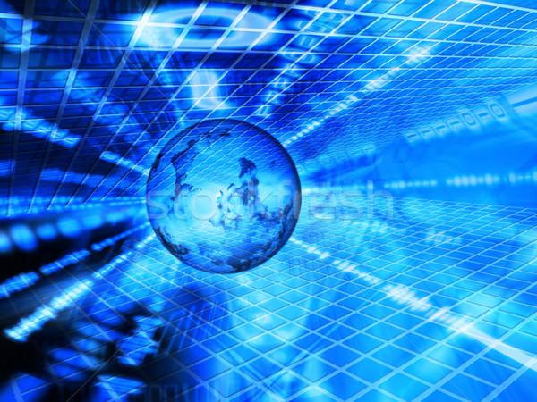 двоичный Мир мира двоичный код интернет аннотация Сток-фото © kjpargeter