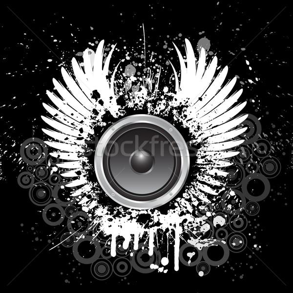Stock photo: Grunge music background