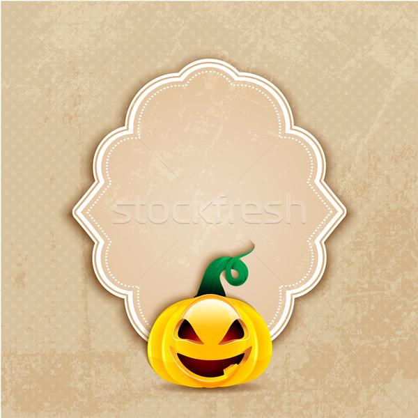 Grunge halloween estilo fundo silhueta Foto stock © kjpargeter