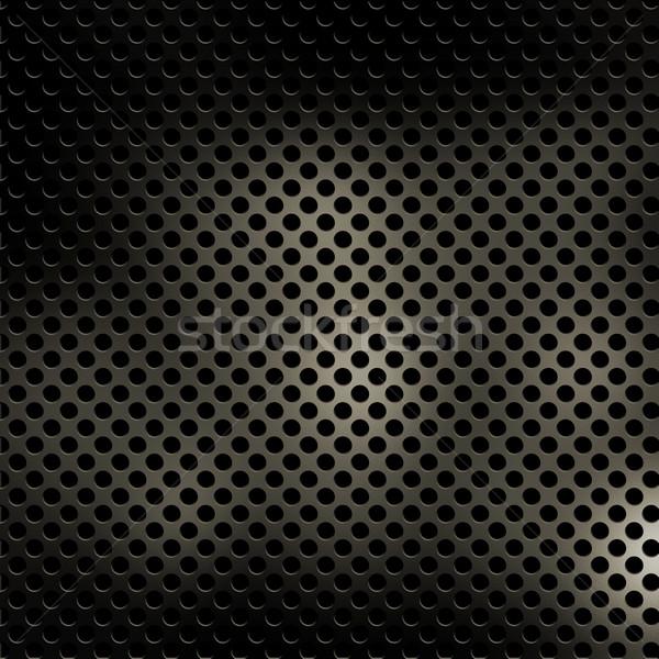 金属の質感 背景 金属 穴 実例 ストックフォト © kjpargeter