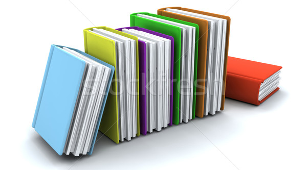 Stack of books Stock photo © kjpargeter