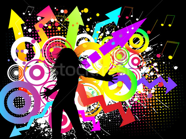 Stock photo: Funky party
