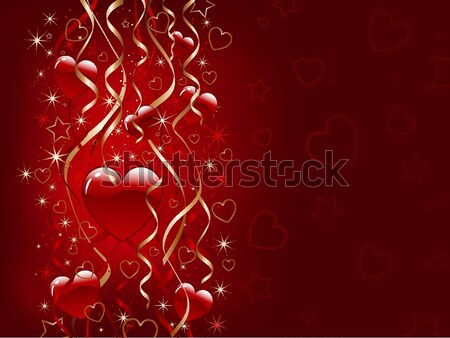 Valentines day background Stock photo © kjpargeter