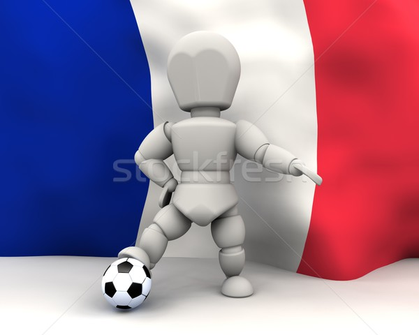 world cup football teams 2010 Stock photo © kjpargeter