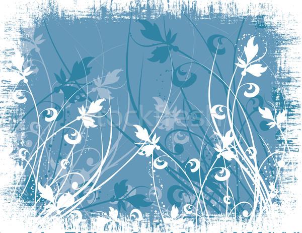 нет описание цветы весны завода вектора Сток-фото © kjpargeter