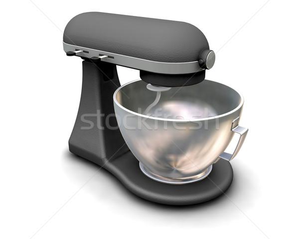 Mezclador 3d cocina moderna ilustración Foto stock © kjpargeter