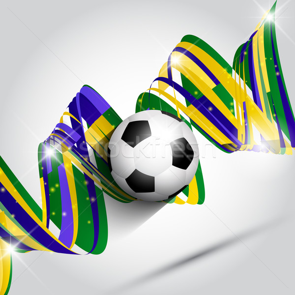 Abstract football or soccer background  Stock photo © kjpargeter