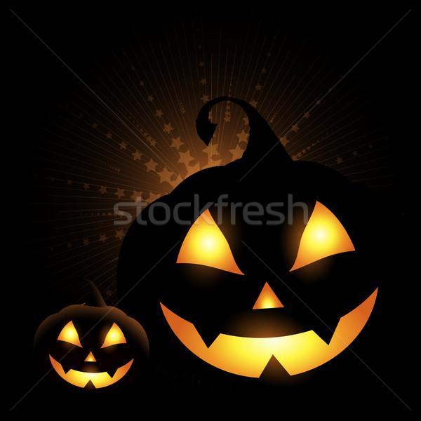 Halloween pumpkins Stock photo © kjpargeter