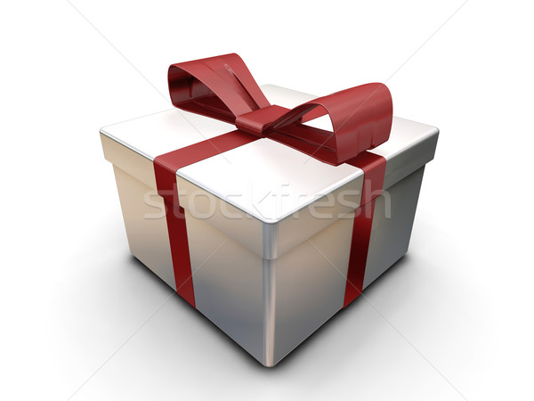 Wrapped gift Stock photo © kjpargeter