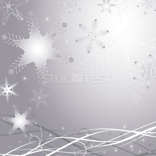 Winter abstract 4 Stock photo © kjpargeter