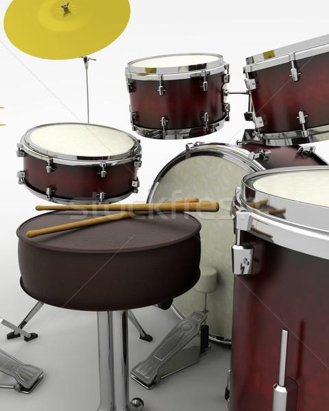 Drumkit Stock photo © kjpargeter