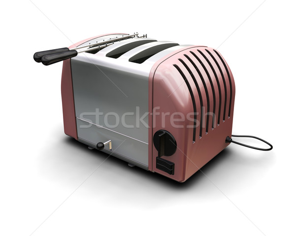 Contemporary toaster Stock photo © kjpargeter