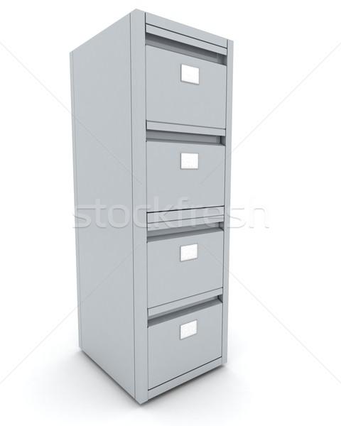 filing cabinet Stock photo © kjpargeter