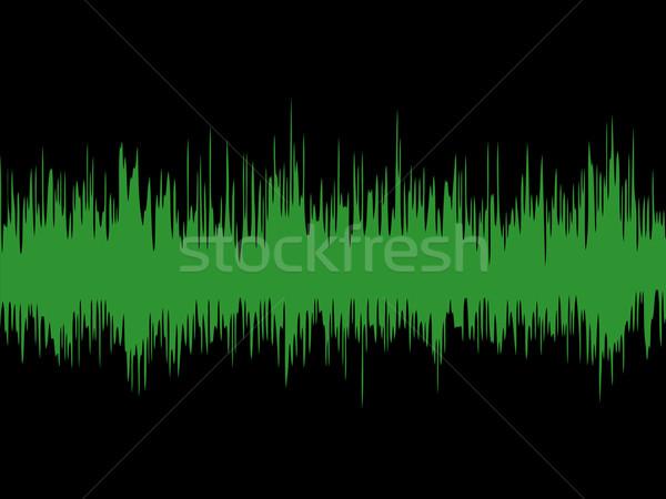 Sound wave Stock photo © kjpargeter