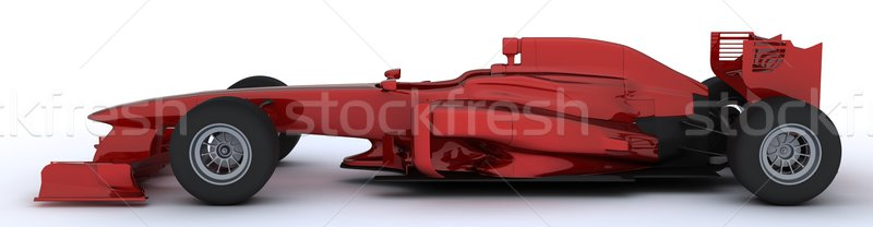 Generic open wheeled racing car Stock photo © kjpargeter