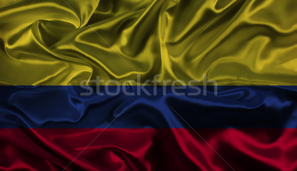 Colombian flag background Stock photo © kjpargeter