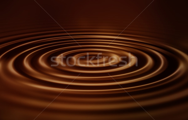 Velvet chocolate ripples Stock photo © kjpargeter