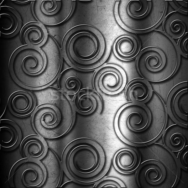 Metal grunge streszczenie obracać podstaw Zdjęcia stock © kjpargeter