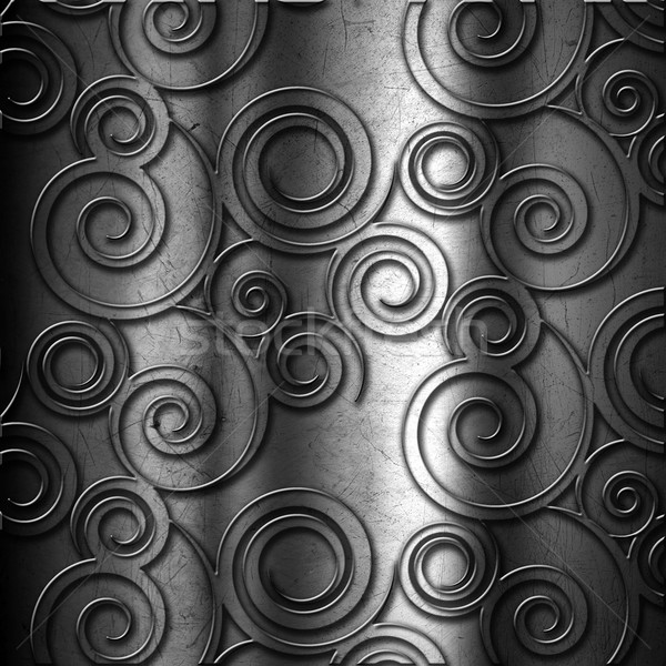 Metal background Stock photo © kjpargeter