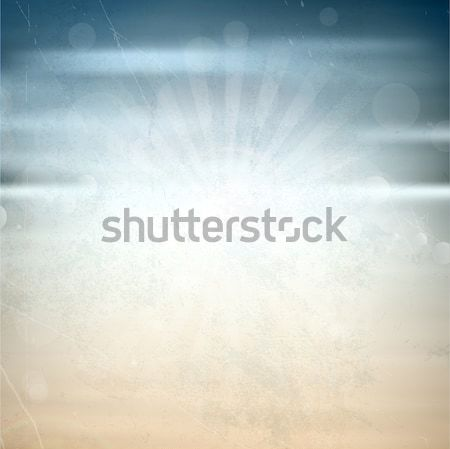 Grunge summer background Stock photo © kjpargeter