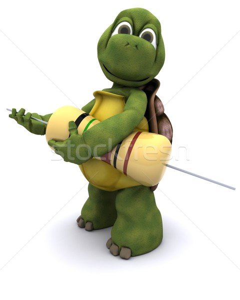 tortoise with a resistor Stock photo © kjpargeter