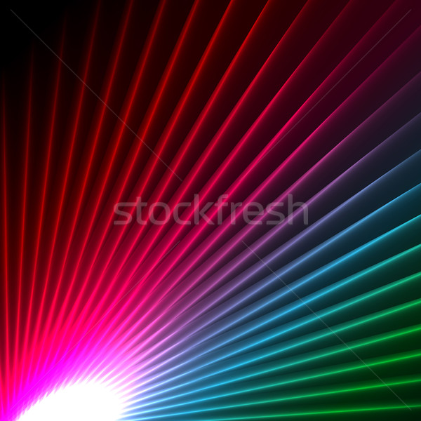 abstract starbust effect background  Stock photo © kjpargeter