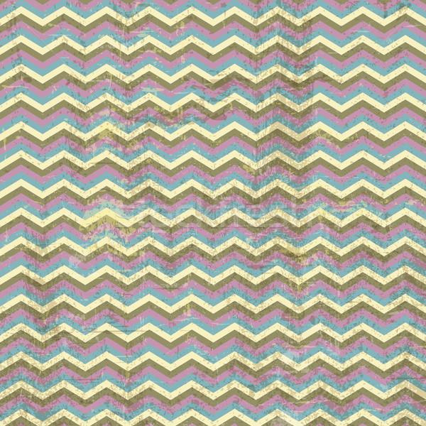 Grunge chevron stripes background Stock photo © kjpargeter