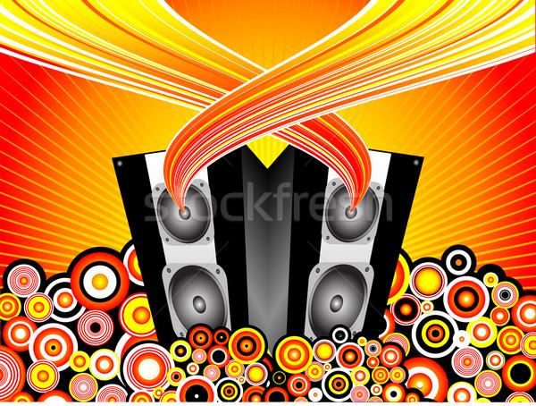 Foto stock: Música · fiesta · danza · fondo
