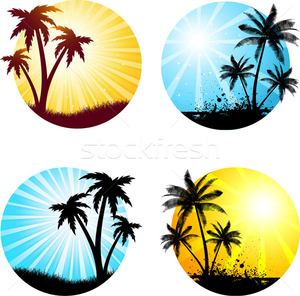 summer scenes  Stock photo © kjpargeter