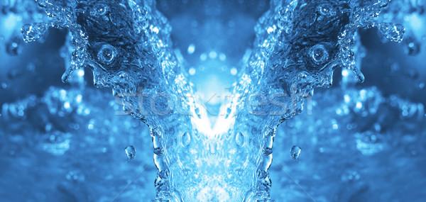 воды демон аннотация здоровья падение всплеск Сток-фото © kjpargeter