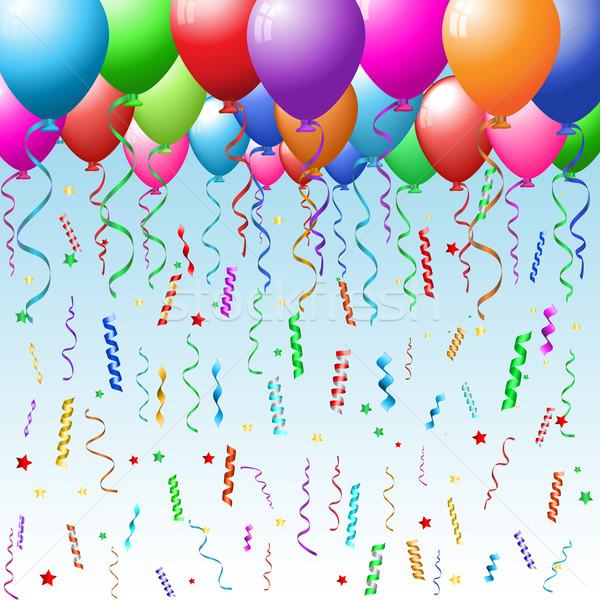 Серпантин поздравлений на день рождения 580
