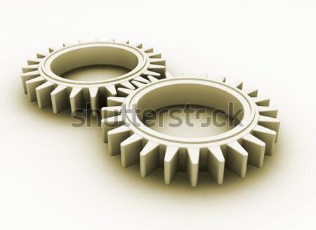 Gears concept Stock photo © kjpargeter
