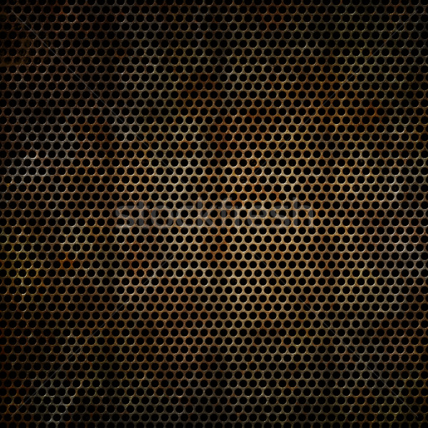 Rusty metal grunge óxido efecto Foto stock © kjpargeter