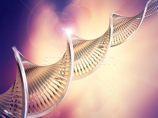 Absztrakt DNS orvosi egészség élet kémia Stock fotó © kjpargeter