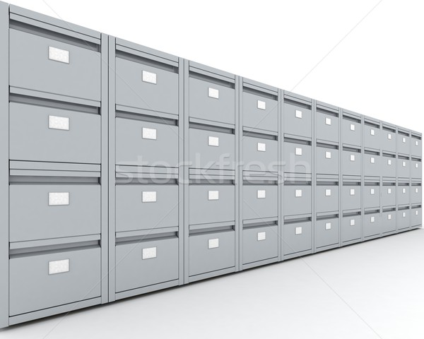 filing Cabinet Stock photo © kjpargeter