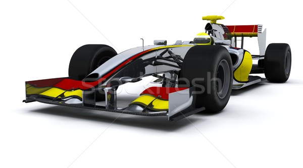 F1 Racing Car Stock photo © kjpargeter