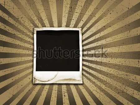Grunge polaroid Stock photo © kjpargeter
