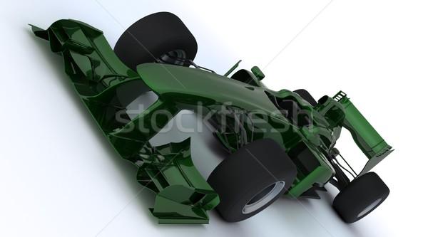 általános nyitva versenyzés autó 3d render Stock fotó © kjpargeter