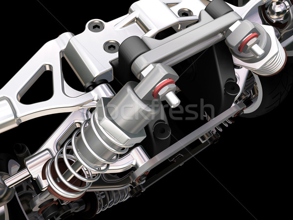 Car suspension Stock photo © kjpargeter