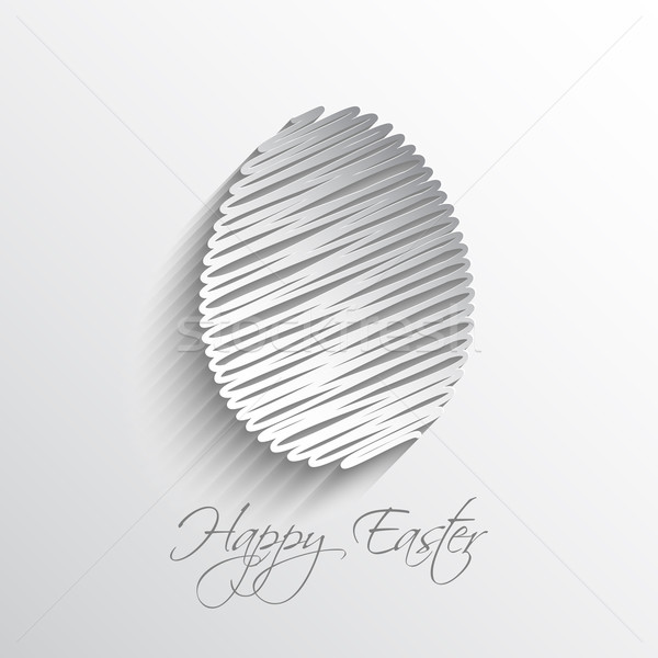 Happy Easter background Stock photo © kjpargeter