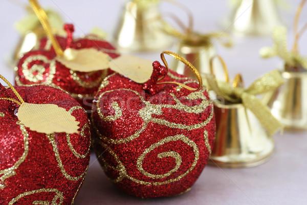 Noël décorations coup coloré arbre Photo stock © klauts