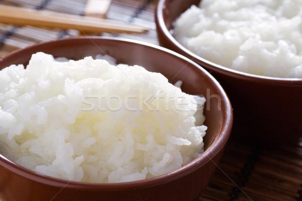 Thai riz délicieux saine blanche Photo stock © klauts