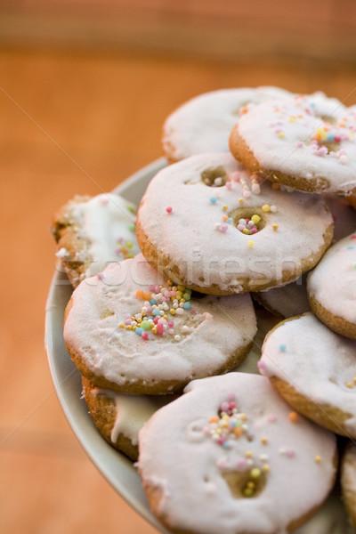 Pain d'épice cookies délicieux alimentaire Photo stock © klauts