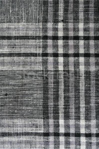 Tissu coup carré modèle mode Photo stock © klauts
