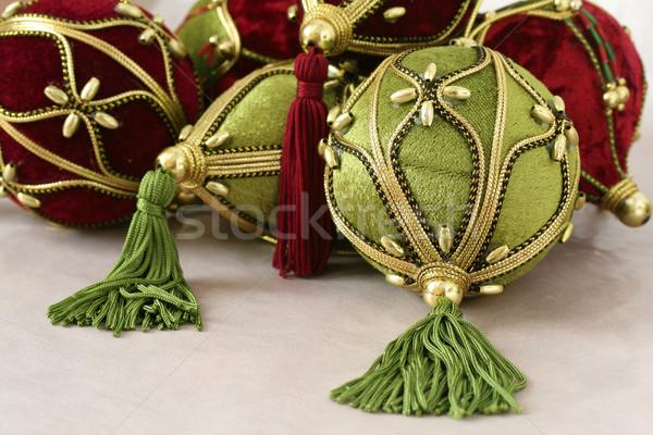 Noël décorations coup coloré fond Photo stock © klauts
