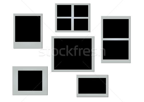 Vecteur photo cadres réaliste différent facile Photo stock © klauts